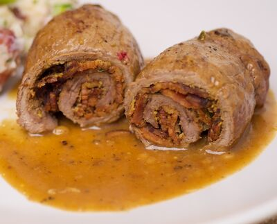 German Beef Roulade