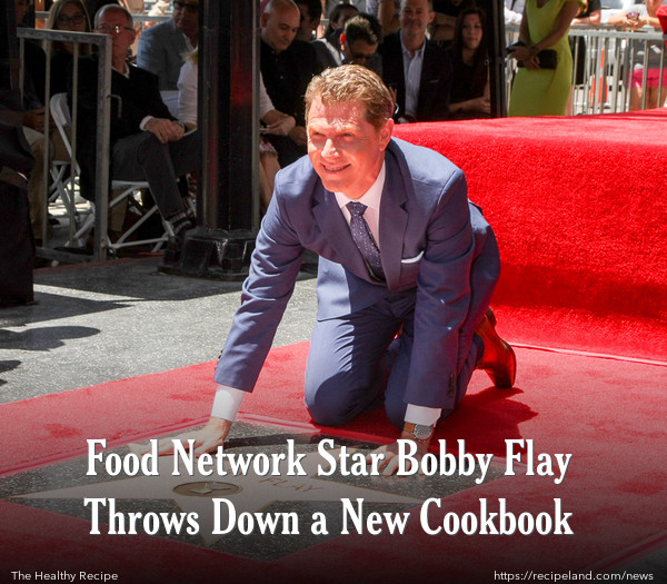 Food Network Star Bobby Flay Throws Down a New Cookbook