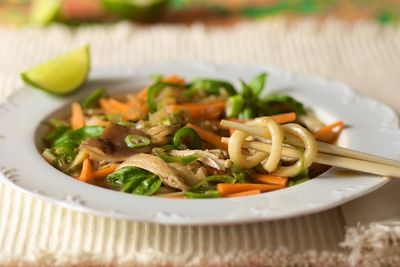 Chicken Udon Noodle Soup