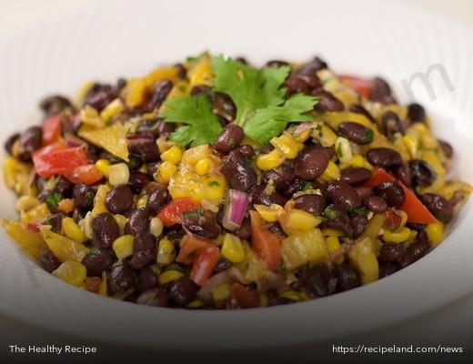 Meatless Monday Main Dish: Black bean, mango and corn salad