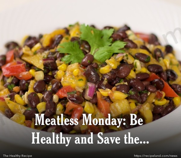 Meatless Monday Main Dish: Black bean, mango and corn salad