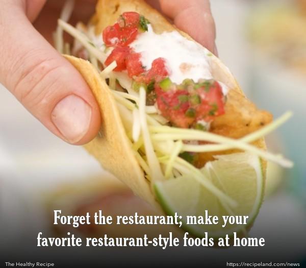 Homemade taste-alike Rubio's Fish Tacos