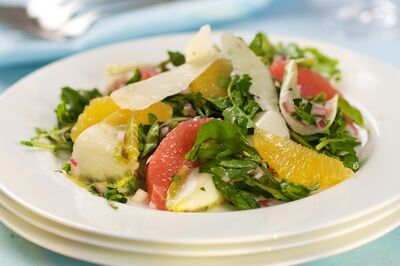 Grapefruit and Orange with Watercress