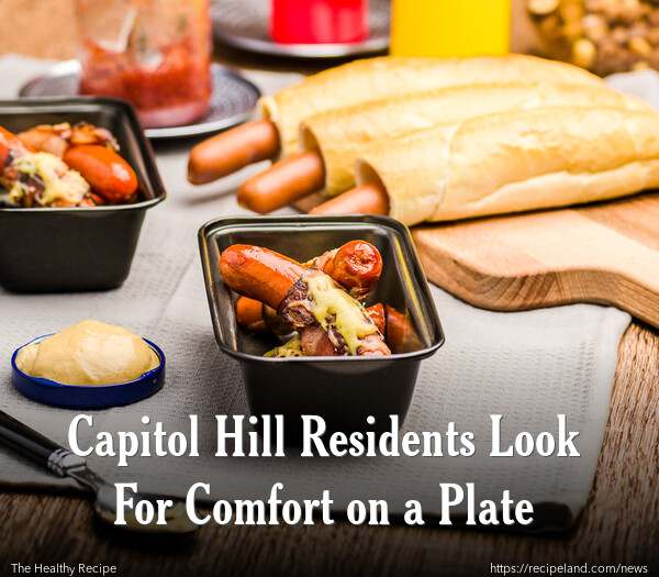 Capitol Hill Residents Look For Comfort on a Plate