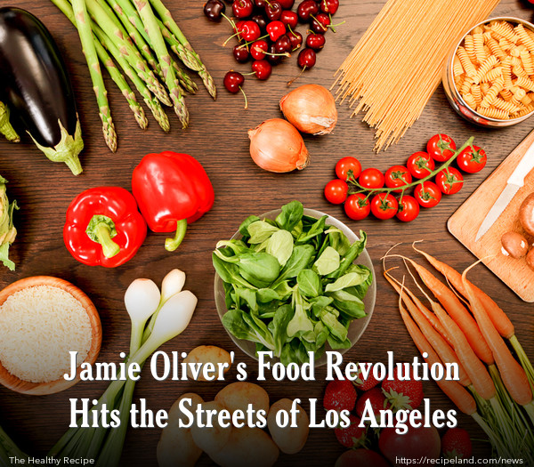 Jamie Oliver's Food Revolution Hits the Streets of Los Angeles