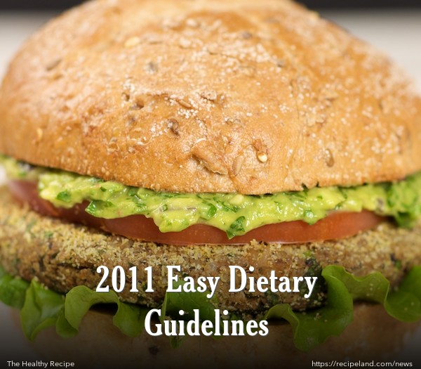 2011 Easy Dietary Guidelines