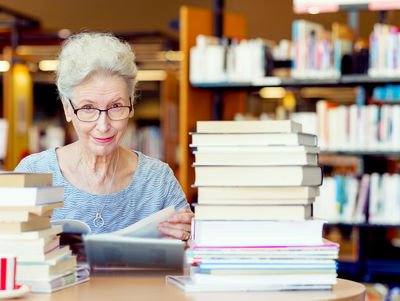 A Lifetime of Reading Pays Off in Old Age
