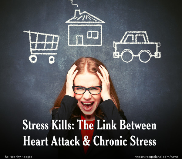 Stress Kills: The Link Between Heart Attack & Chronic Stress