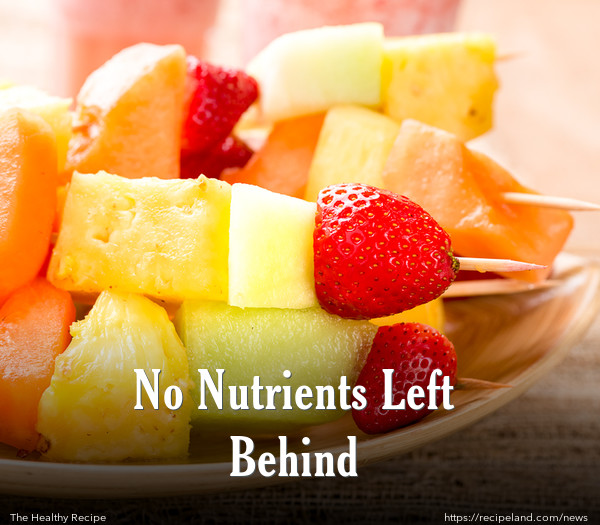No Nutrients Left Behind