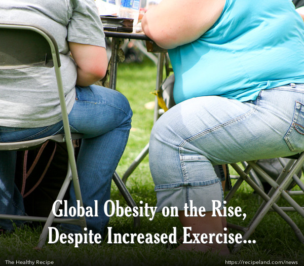 Global Obesity on the Rise, Despite Increased Exercise Rates