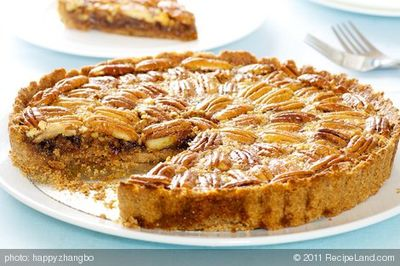 Triple Maple Pecan Pie