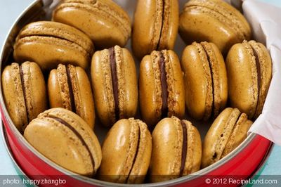 Coffee Ganache Macarons