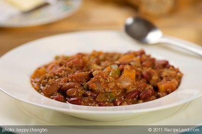 Moosewood Vegetarian Chili