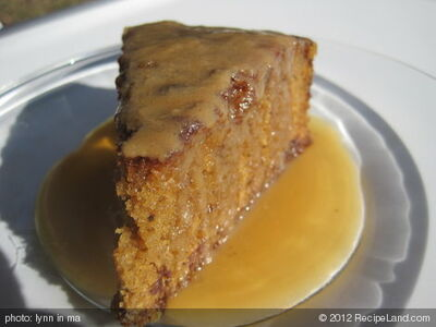 Traditional Sticky Toffee Pudding