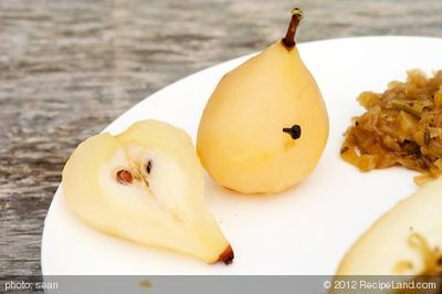 Spiced Pickled Pears