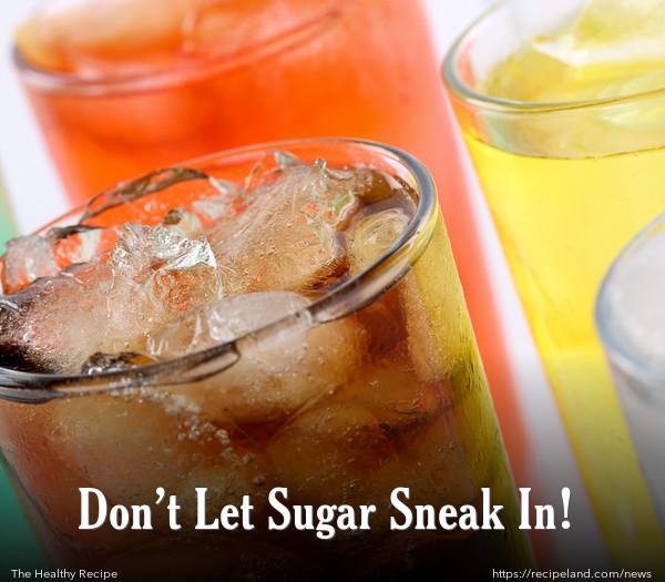 Don't Let Sugar Sneak In!