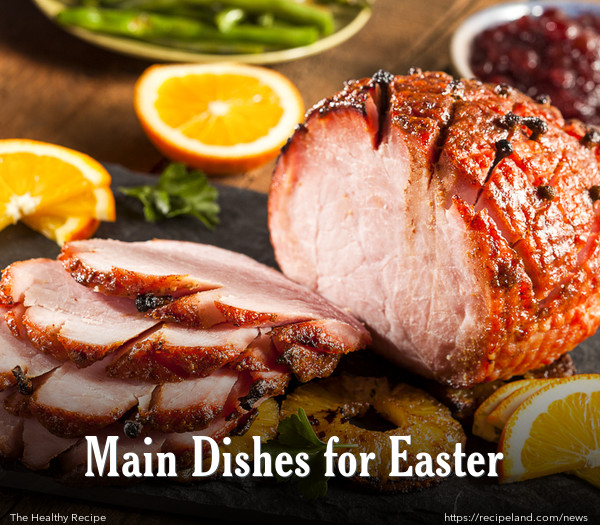 Bake Glazed Easter Ham