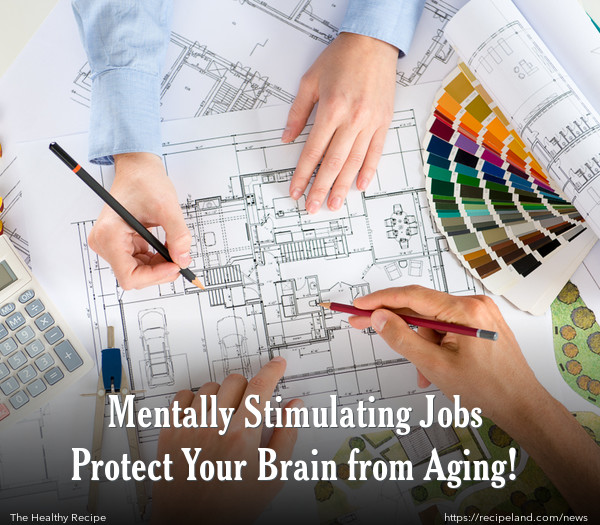 Mentally Stimulating Jobs Protect Your Brain from Aging!
