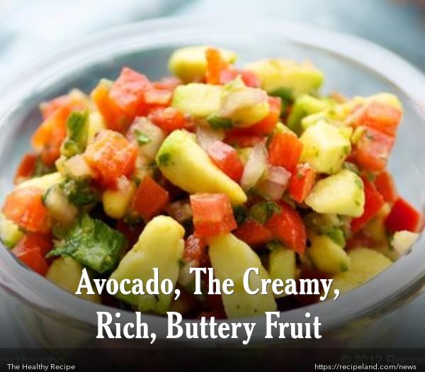 Avocado Relish