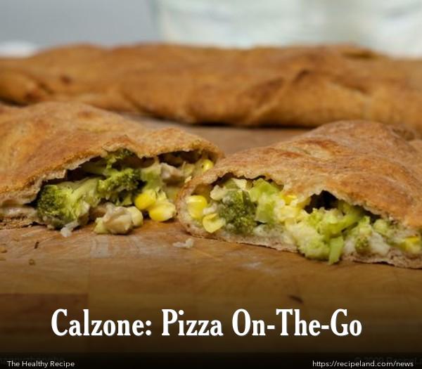Broccoli and Corn Calzone