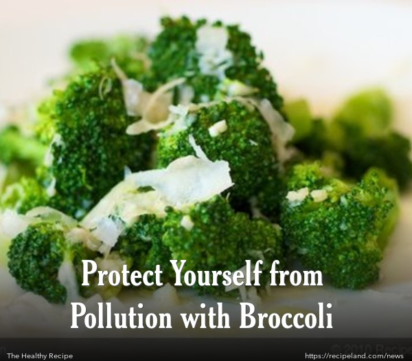 Protect Yourself from Pollution with Broccoli