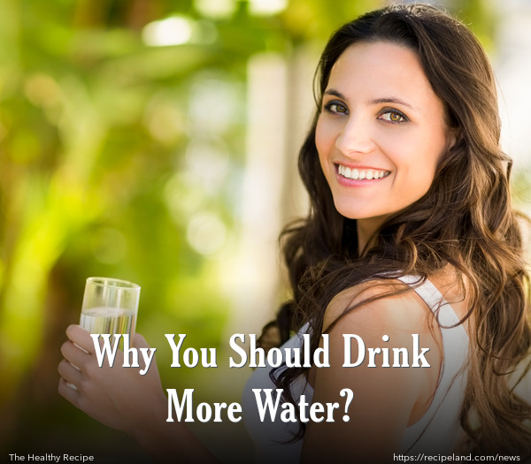 Why You Should Drink More Water?
