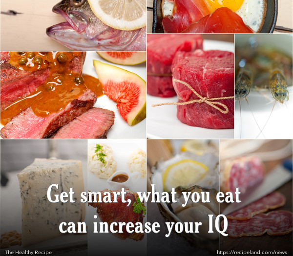 Get smart, what you eat can increase your IQ