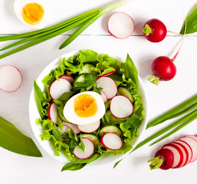 One Essential Salad Ingredient That Helps You Absorb Vitamins