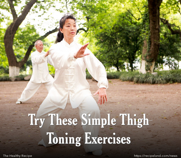Try These Simple Thigh Toning Exercises