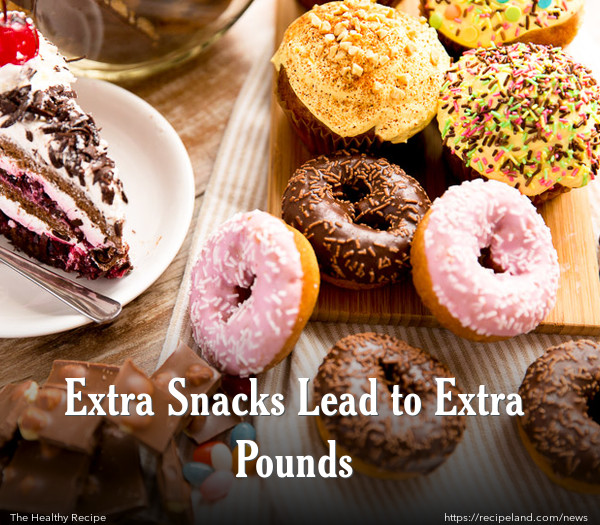 Extra Snacks Lead to Extra Pounds