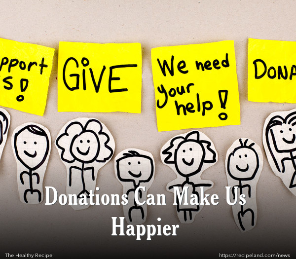 Donations Can Make Us Happier