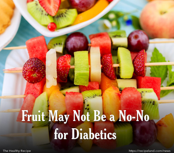 Fruit May Not Be a No-No for Diabetics