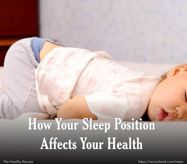 How Your Sleep Position Affects Your Health