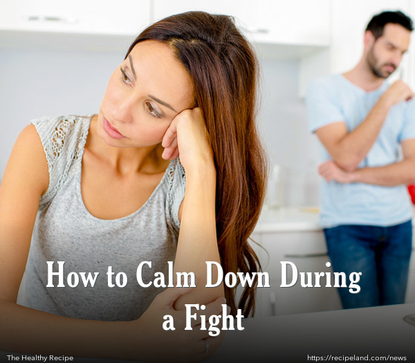 How to Calm Down During a Fight