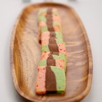 Holiday Spumoni Cookies