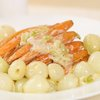 Baby Carrots and Onions in Cream (Irish)