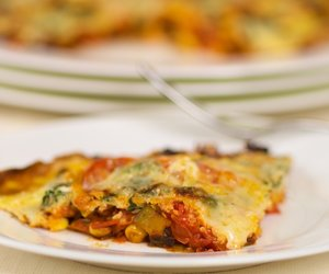Vegetable Frittata with Cheese