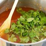 and cilantro.