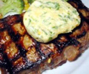 Beef Tenderloin with Gorgonzola Nut & Herb Butter