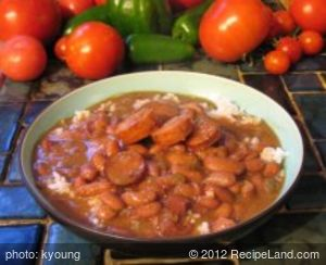 Crescent City Red Beans & Rice (Crock-Pot)