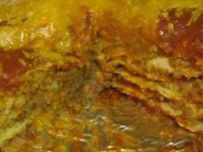 Beef & Bean Burrito Stack (Crockpot, Slow Cooker)