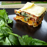 So Yummy Vegetarian lasagna