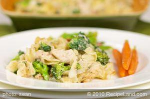 Broccoli, Chicken and Noodle Casserole