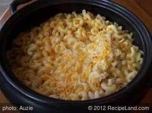 Three Cheese Crockpot Macaroni and Cheese