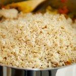 Add the rice.