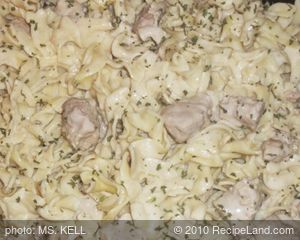 Favorite Pork Stroganoff