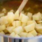 Add potatoes.