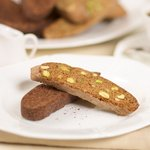 Biscotti with Pistachios and Lemon