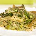 Asparagus Basil-Pesto Lasagna