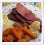 Crockpot Corned Beef andCabbage